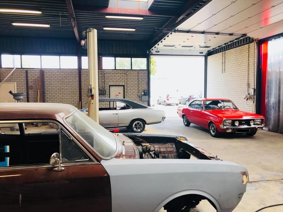 Restauratie Opel oldtimers