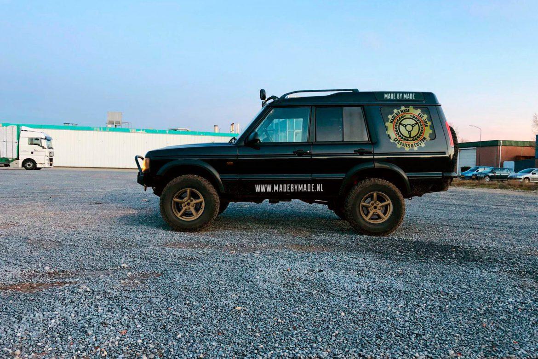 Land Rover uitlezen met Nanocom